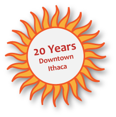 20 Years in downtown Ithaca